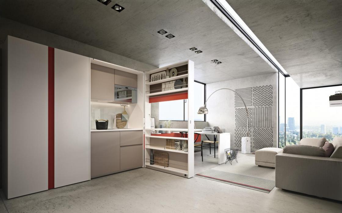 Spazio living: come arredare cucina e soggiorno in un ...