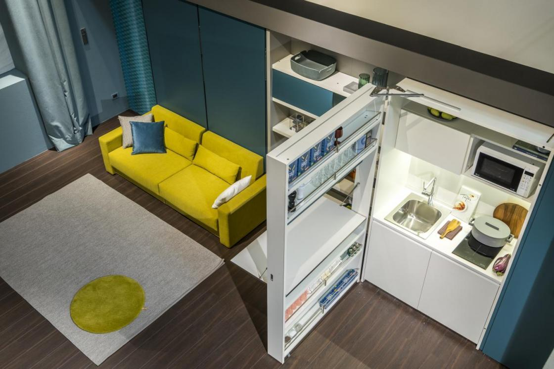 Open Space Cucina E Soggiorno living space: how to furnish the kitchen and the living room