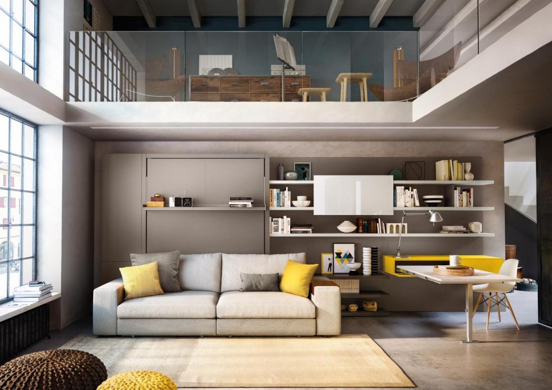 Camera da letto e soggiorno insieme: 3 idee per uno spazio ...