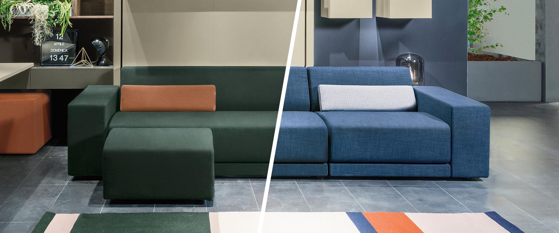 Divano Rosso E Grigio come scegliere il colore del divano? idee per creare i