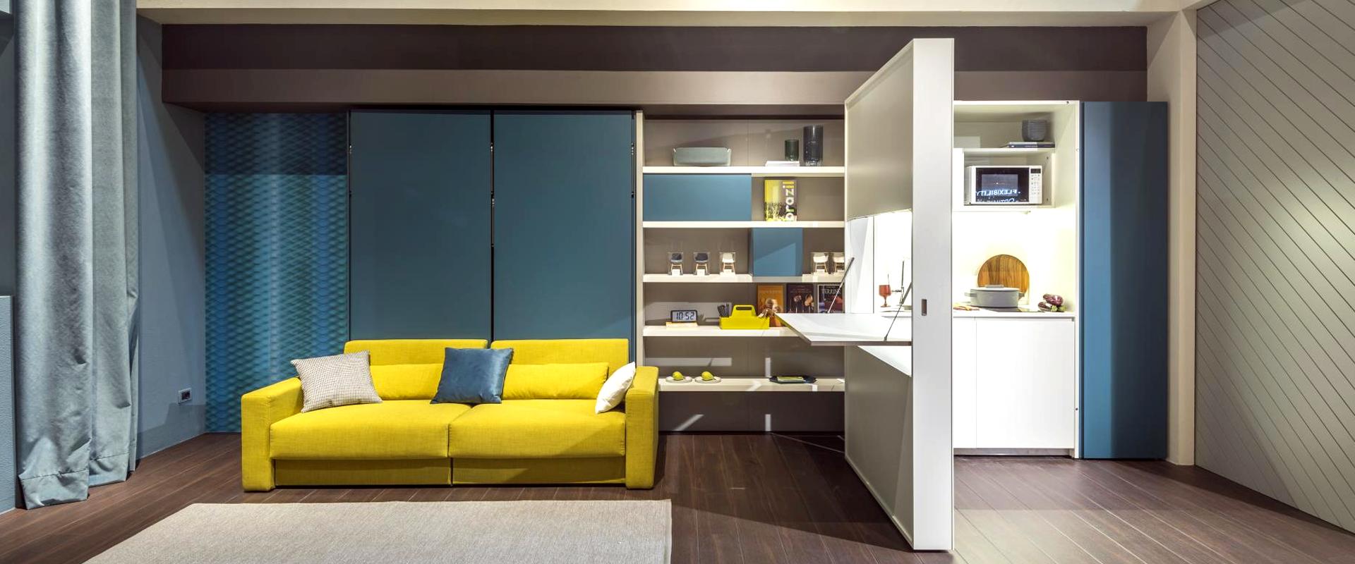 Cucina E Soggiorno Insieme spazio living: come arredare cucina e soggiorno in un
