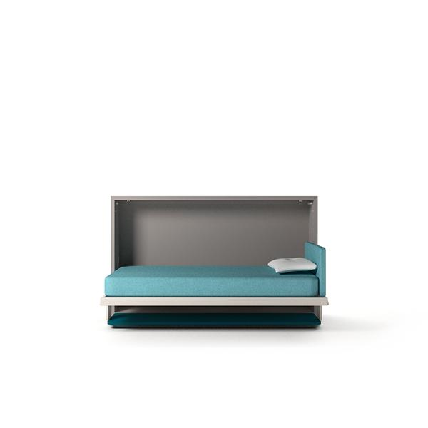 Kali Board 120 horizontal wall bed with desk