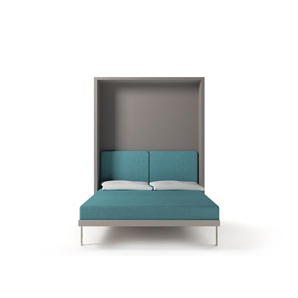Penelope 2 Standard double vertical wall bed